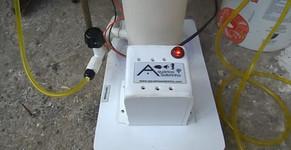 Filtro Eletrolítico para condicionamento da água de baterias de peixes ornamentais