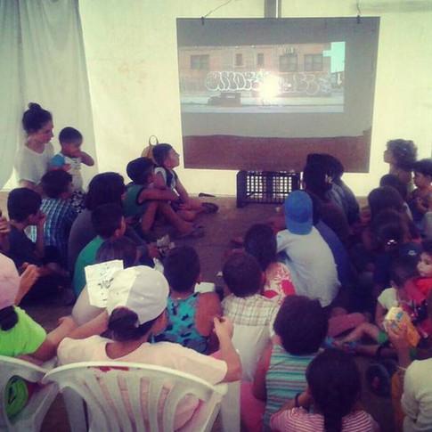 Pilot Project: Ritsona Refugee Camp Animation Screenings