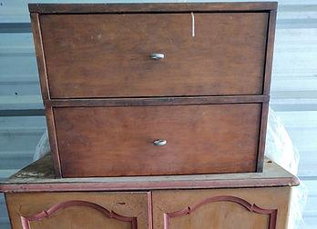 Damaged box drawers