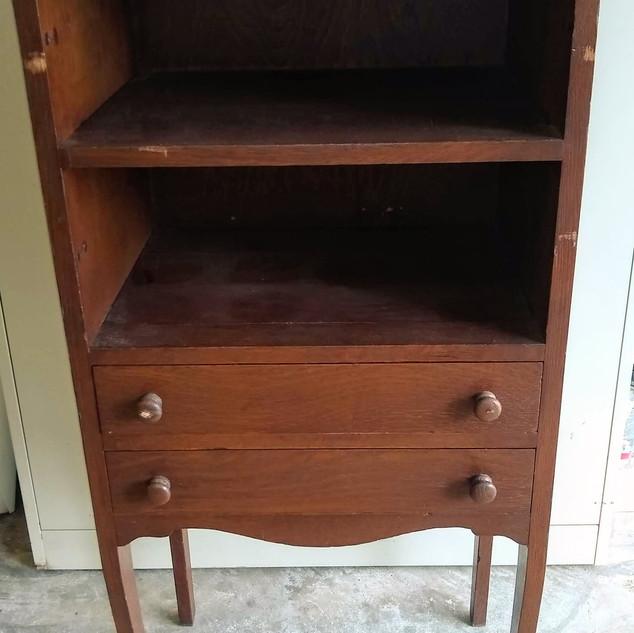 Unique vintage sheet music cabinet