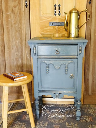 Vintage Teal Chest by Jean Kidd ReDesign Studio
