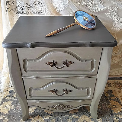 Moody French 2 Drawer Chest by Jean Kidd ReDesign Studio