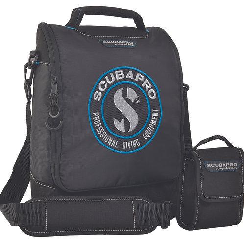 SCUBAPRO -     DIVE REGULATOR AND COMPUTER BAG, BLACK