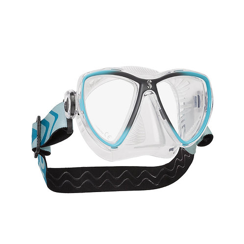 Scubapro - SYNERGY MINI DIVE MASK, CLEAR SKIRT