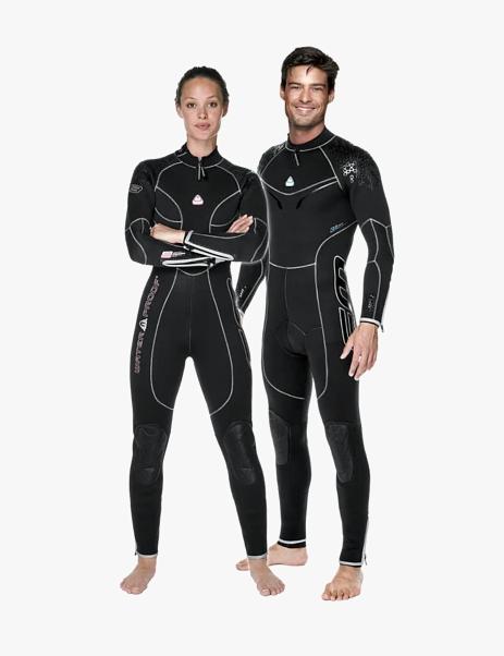 Waterproof - W3 3.5MM BACKZIP FEMALE