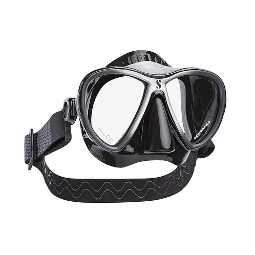 SCUBAPRO - SYNERGY 2 TWIN TRUFIT DIVE MASK, W/COMFORT STRAP