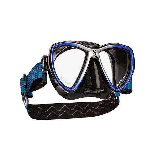 Scubapro - SYNERGY MINI DIVE MASK, BLACK SKIRT