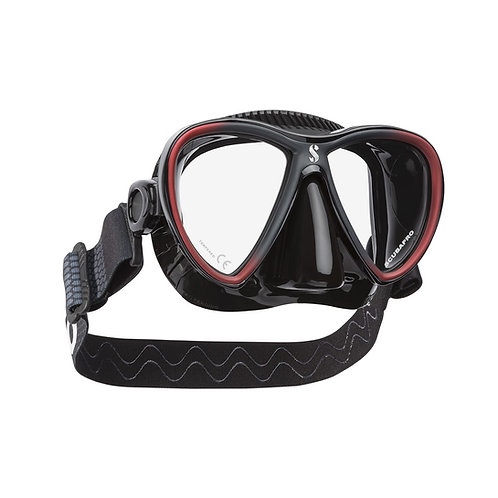 SCUBAPRO - SYNERGY TWIN DIVE MASK W/COMFORT STRAP