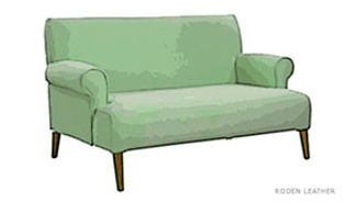 English-Roll-Arm-Loveseat-Tight-Back-&-S