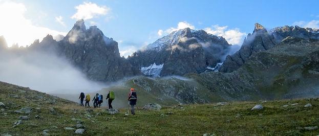 Поход в горах Качкара