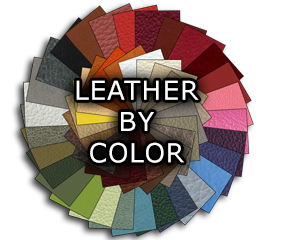 NEW! Upholstery Leather By Color
