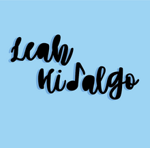 "LEAH HIDALGO BASIC LOGO - BLUE BACKGROUND (1)_Address Labels - 20-sheet (1"" x 4"").png"