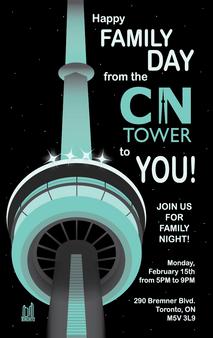 CN Tower veggspjaldahugtak