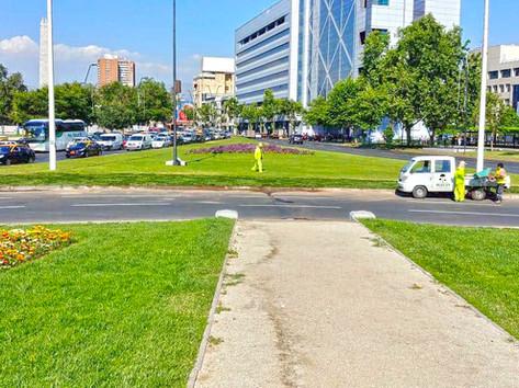 Reposición Plaza Italia