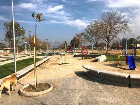 Construcción Parque La Pintana
