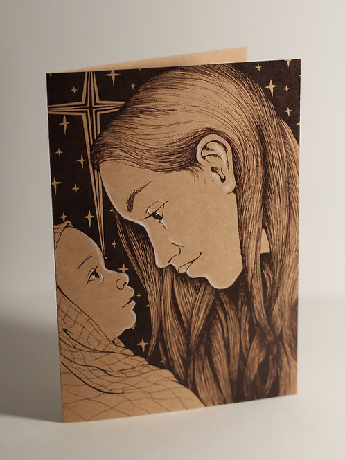 """Unto Us"" Christmas Card"