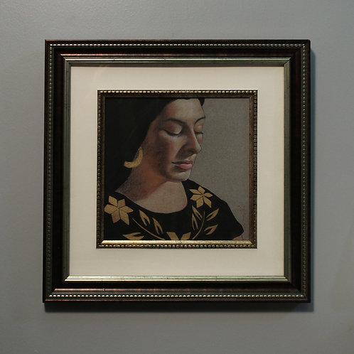 Inca Gold Framed Original