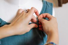 (detail) repurposing a dress