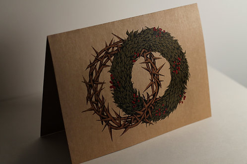 """Crowns"" Christmas Card"