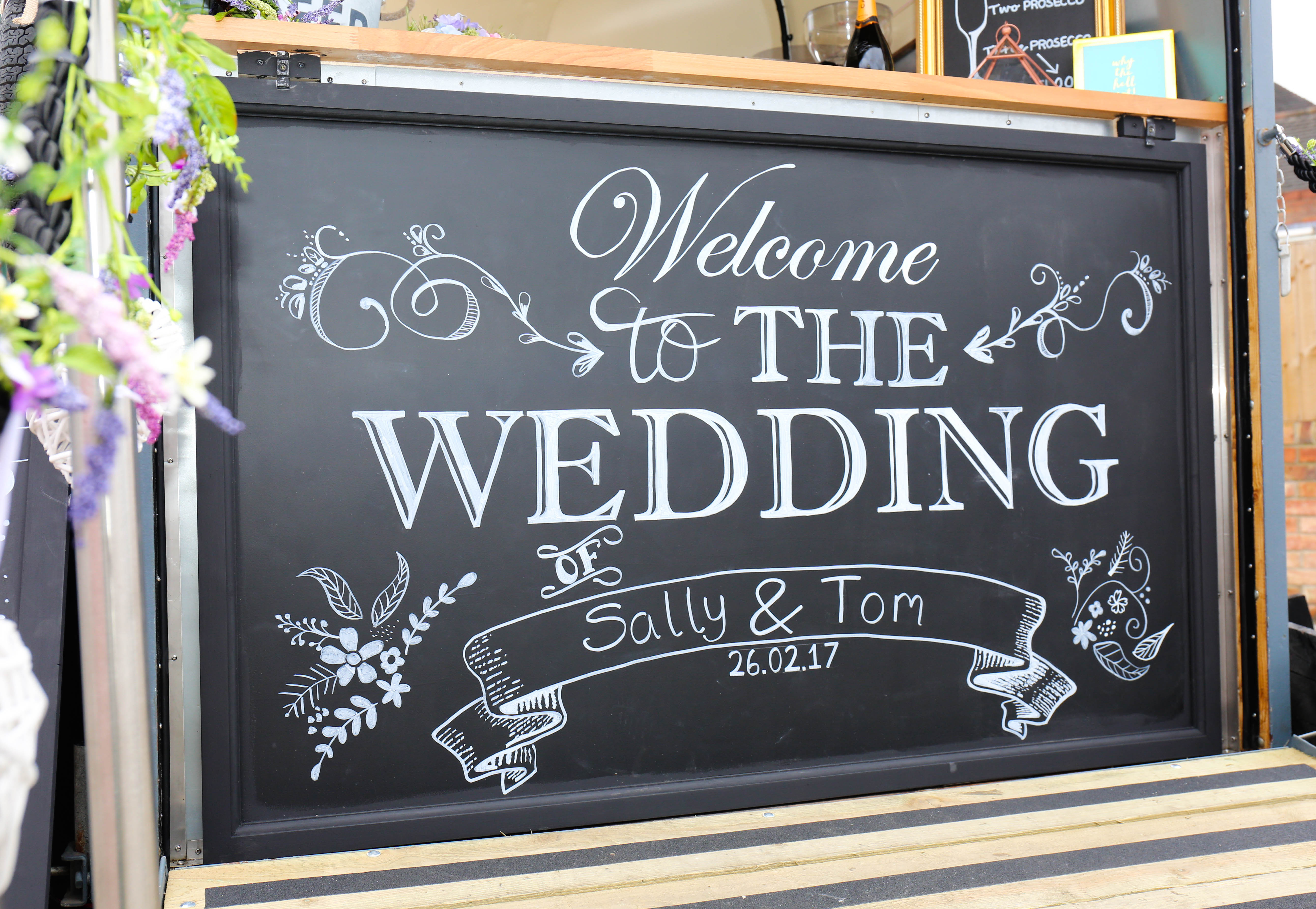Bespoke chalk boards