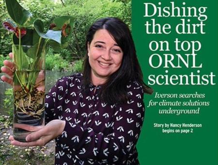 Dishing the dirt on top ORNL scientist