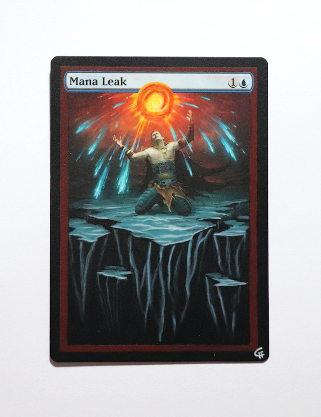 Captain Magic Altered Full And Textless Art Custom Mtg Card Gallery