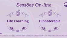 Sessões de Life Coaching e Hipnoterapia On-line