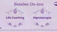 Sessões de Life Coaching e Hipnoterapia On-line