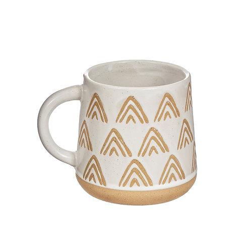 Nomad White Mug