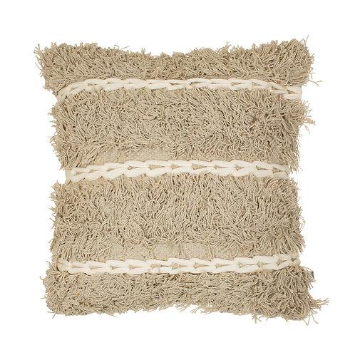 Brun Tufted Stripe Cushion