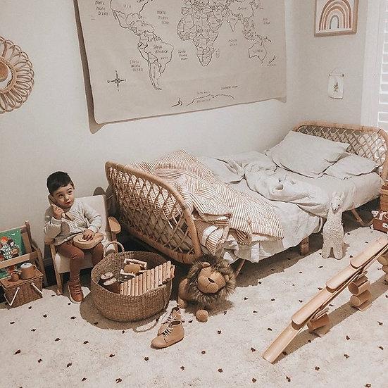 Dreamland Rattan Bed