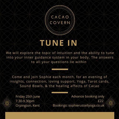 Cacao Cover - TUNE IN