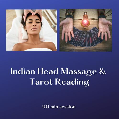 Indian Head Massage & Tarot Reading