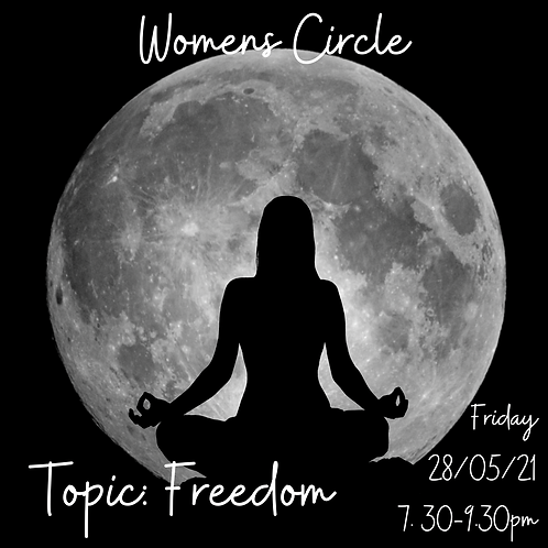 Women's Circle - Topic: Freedom