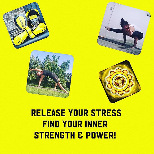 Release your stress, find your inner strength and power!