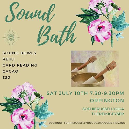 Sound Bath & Reiki Evening