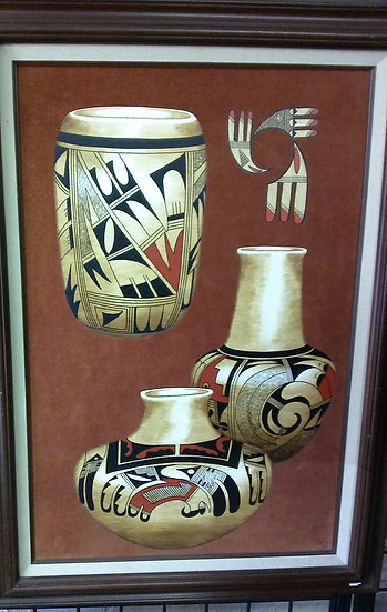 """Native American Pottery"" by: Ern Johnson"