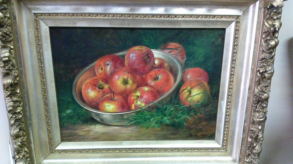 """Red Apples"" by: August Laux"