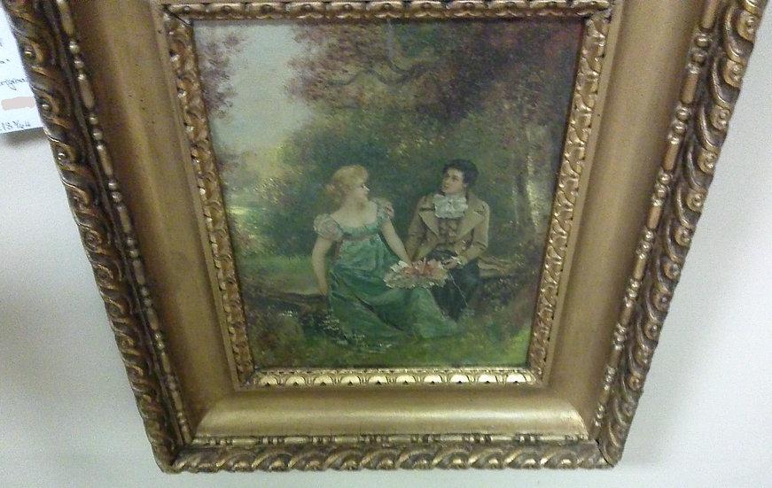 """""""Courtship"""" Victorian Original"""