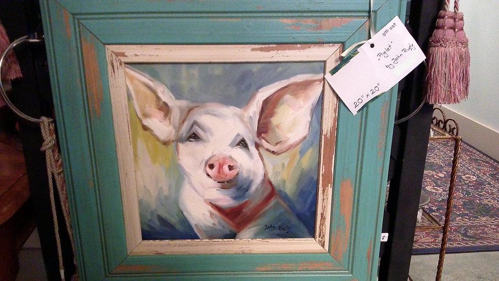 """Piglet"" by: John Rudy"