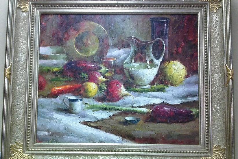 """""""Mediterranean Still Life"""" Artist Unknown"""