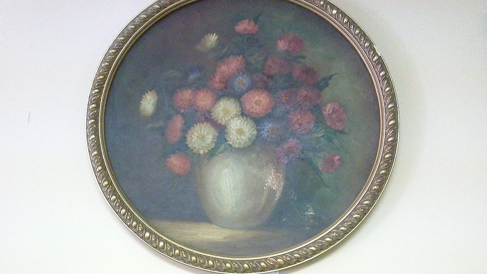"""""""Vase with Flowers"""" 1920's"""