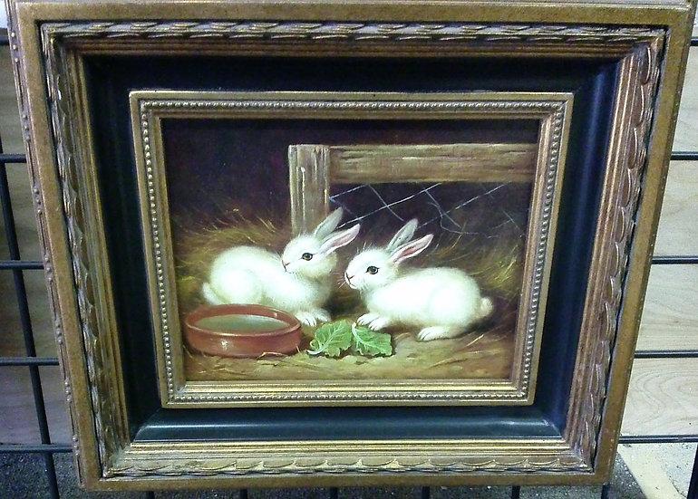"""""""Rabbits"""" Artist Unknown"""