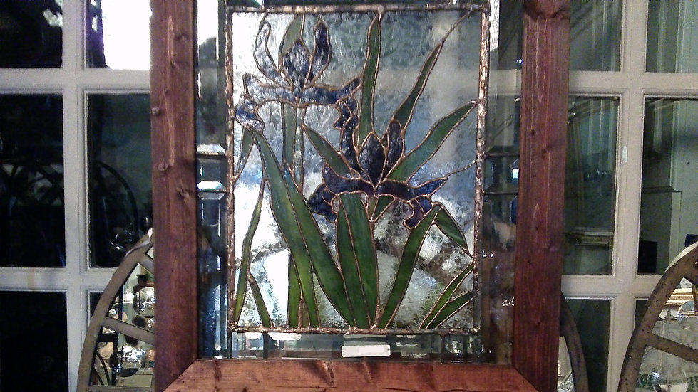 Stained Glass Orchids