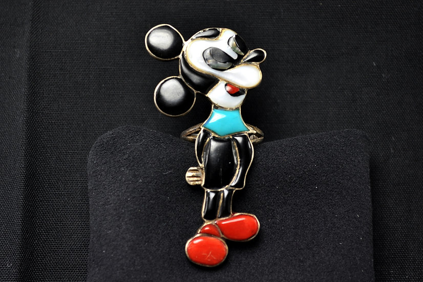 Perky Mouse Ring