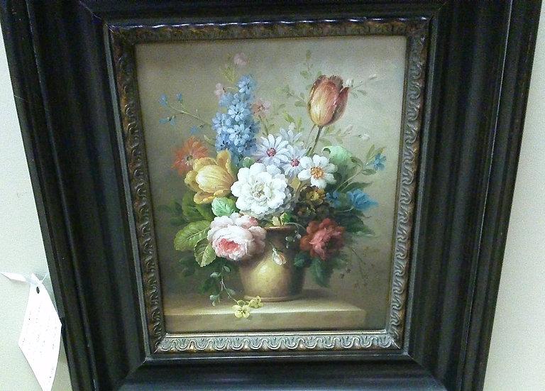 """""""Floral"""" Artist Signed"""