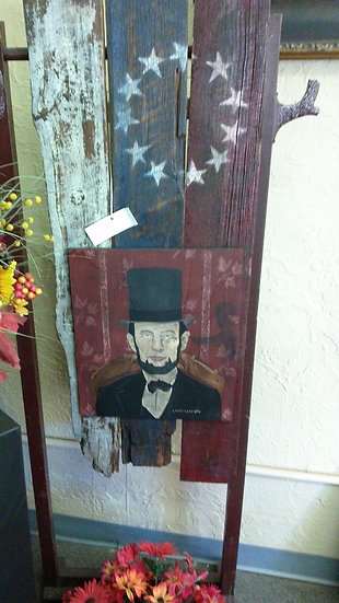"""""""A. Lincoln"""" Artist Signed"""