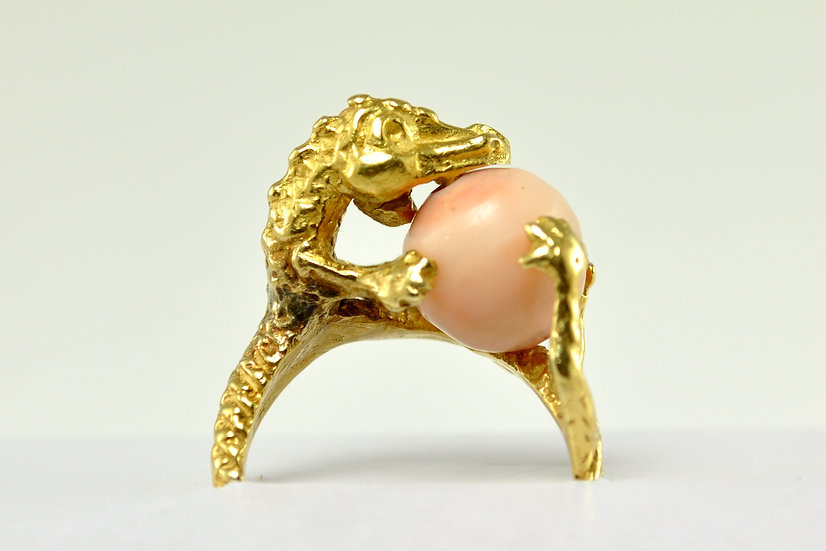 Angelskin Coral Ring