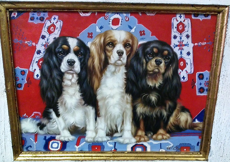 """3 Puppies"" Artist Signed"