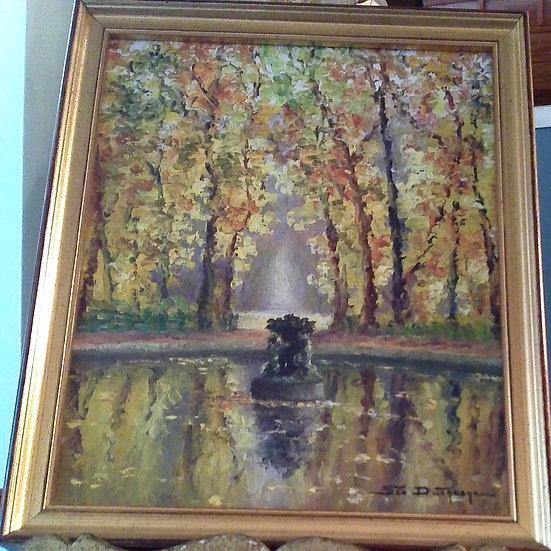 """The Fountain"" by: Geo Duchesne"